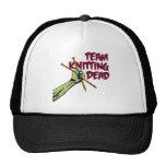 Team Knitting Dead Mesh Hats