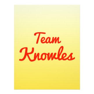 Team Knowles Flyer Design