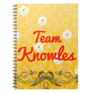 Team Knowles Spiral Notebooks