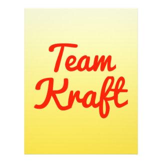 Team Kraft 21.5 Cm X 28 Cm Flyer