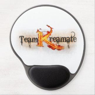 """Team Kreamate"" brand logo mouse pad Gel Mouse Pad"