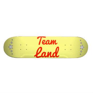 Team Land Skateboard Deck