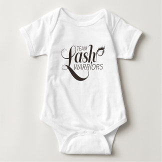 Team Lash Warriors Baby Grow Baby Bodysuit