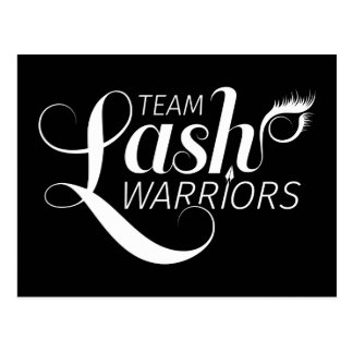 Team Lash Warriors Post Cards
