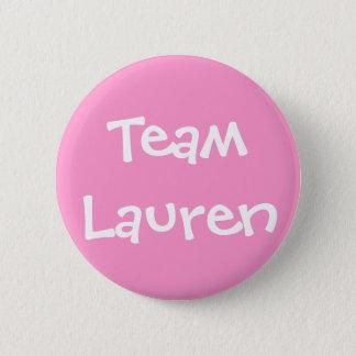 Team Lauren 6 Cm Round Badge