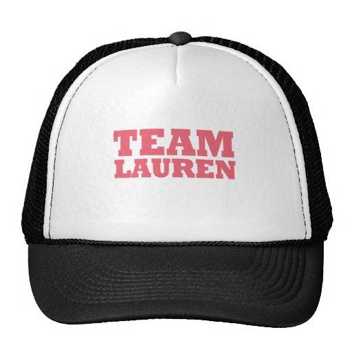 Team Lauren Mesh Hats