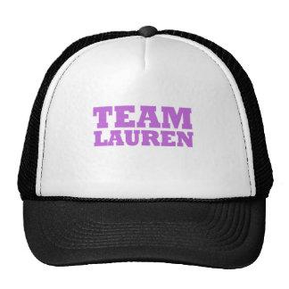 Team Lauren Hats