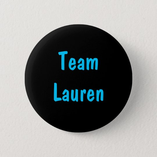 Team Lauren Pin