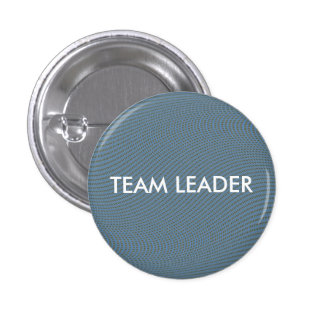 TEAM LEADER 3 CM ROUND BADGE