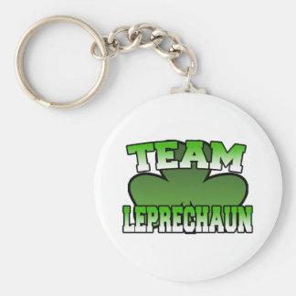 Team Leprechaun Keychain