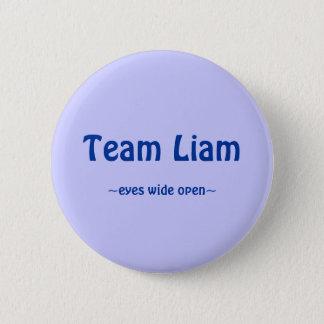 Team Liam 6 Cm Round Badge