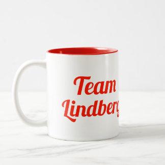 Team Lindberg Two-Tone Mug