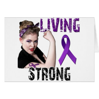 Team Living Strong Card