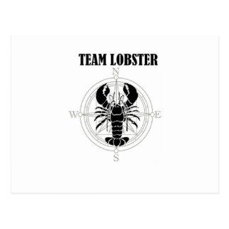 Team Lobster Postcard
