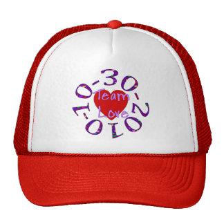 Team Love Trucker Hats
