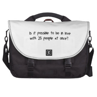 Team Love Laptop Messenger Bag