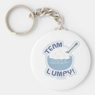 Team Lumpy Potatoes Key Ring