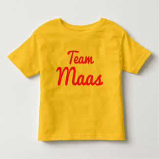 Team Maas Tshirts