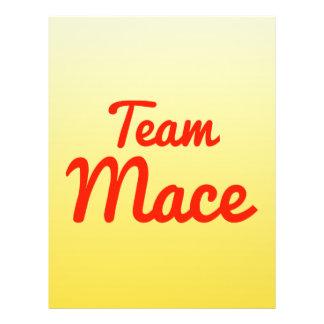 Team Mace 21.5 Cm X 28 Cm Flyer