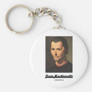 Team Machiavelli Key Chains