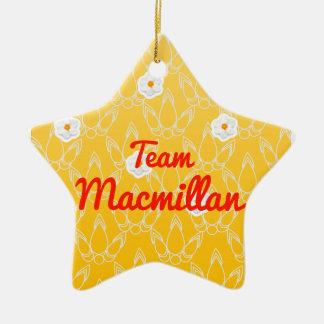 Team Macmillan Ornaments