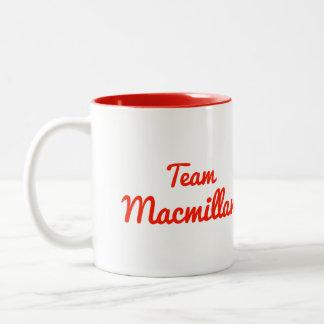 Team Macmillan Mugs