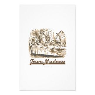 Team Madness (Wonderland Mad Tea Party) Stationery Design
