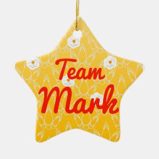 Team Mark Christmas Ornament