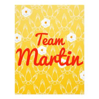 Team Martin Flyer