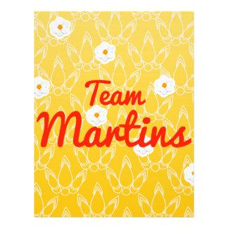 Team Martins Flyer Design
