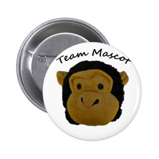 Team Mascot 6 Cm Round Badge