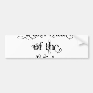 Team Mate of the Bride Bumper Sticker