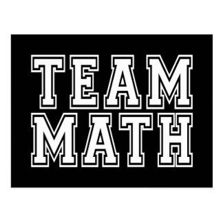 Team Math Postcard