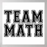 Team Math Poster