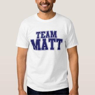 Team Matt Tee Shirts