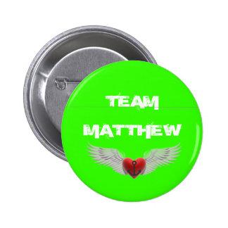 Team Matthew hope button