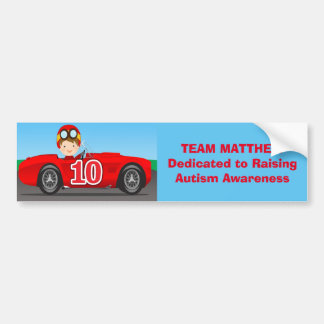 Team Matthew Raising Autism Awareness Bumper Sticker