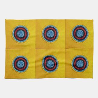 Team Matthew Sunflower for Autism Tea Towel
