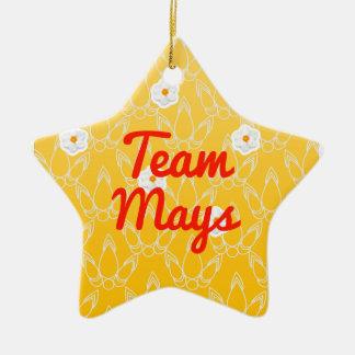 Team Mays Christmas Ornament