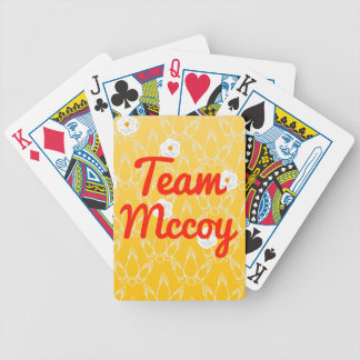 Team Mccoy Bicycle Playing Cards