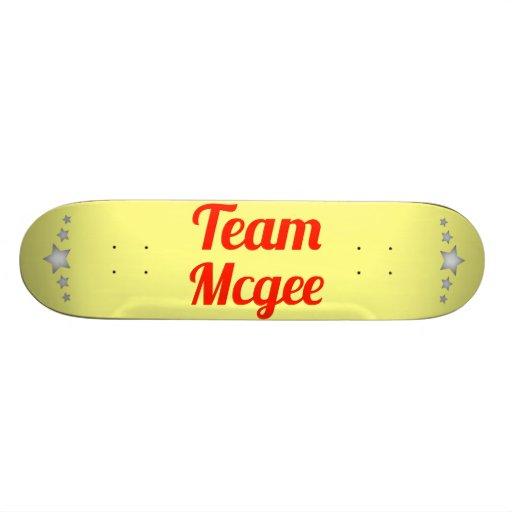 Team Mcgee Skate Boards
