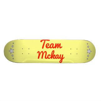 Team Mckay Skate Deck