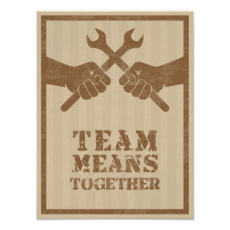 Team means together poster