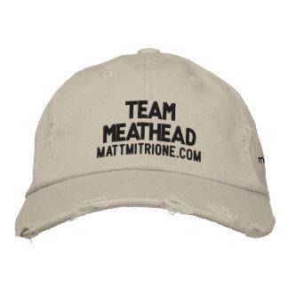 Team MeatHead Hat Embroidered Cap