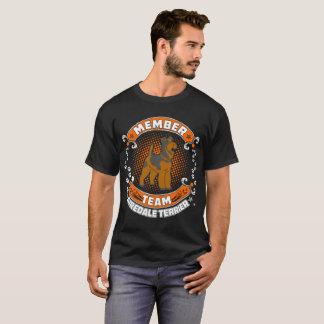 Team Member Airedale Terrier Dog Pets Love Tshirt