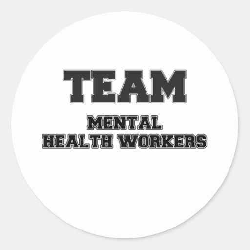 Team Mental Health Workers Sticker