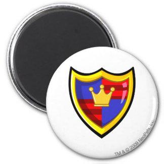 Team Meridell Logo 6 Cm Round Magnet