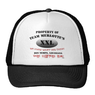 Team Merlottes Shape Shifter HBO True Blook Cap