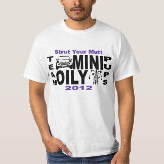Team MINI Oily Pups - Strut Your Mutt 2012 T-Shirt