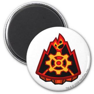 Team Moltara Logo 6 Cm Round Magnet